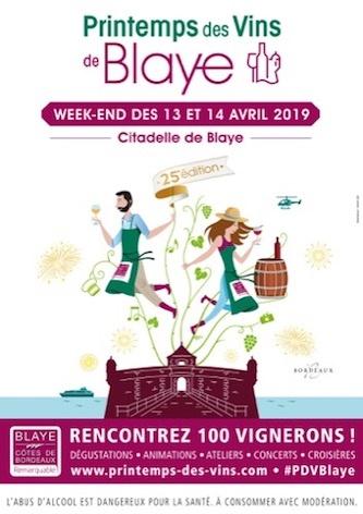 The 25th Printemps des Vins de Blaye