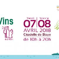 illustration : PRINTEMPS DES VINS DE BLAYE  LES  07 ET 08 AVRIL 2018
